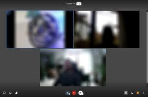Jitsi Meet Laufendes Meeting